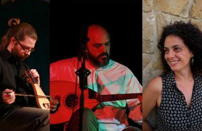 Απ' την Πόλη στο Αιγαίο κι απ' το Αιγαίο στην Κύπρο, οι τρεις καλλιτέχνες πλέκουν το νήμα που συνδέει τα μουσικά ιδιώματα της ευρύτερης περιοχής μας