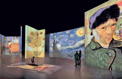 Το Μουσείο Βαν Γκογκ βρίσκεται στο Αμστερνταμ. Ή στη διπλανή καρτέλα του browser. Εδώ είναι οι «Πατατοφάγοι», εδώ και η «Αυτοπροσωπογραφία με γκρι τσόχινο καπέλο»