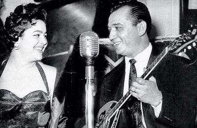 Μανώλης Χιώτης και Μαίρη Λίντα, την εποχή της μεγάλης επιτυχίας τους
