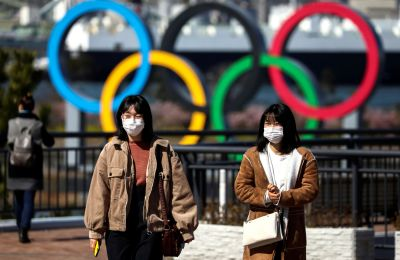 Οι Ολυμπιακοί κύκλοι ενώνουν τον κόσμο στη μάχη κατά του Ιού