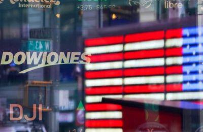 Ο δείκτης Dow Jones της βιομηχανίας έκανε άλμα 2.094,27 μονάδων (+11,26%), στις 20.686,2 μονάδες.