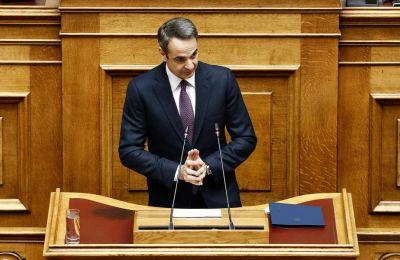 Ο Κυρ. Μητσοτάκης ανέφερε ότι «στην Ελλάδα ήμασταν μπροστά από τις εξελίξεις, πολύ νωρίς ορίστηκαν τα νοσοκομεία αναφοράς, έκλεισαν σχολεία και καταστήματα».