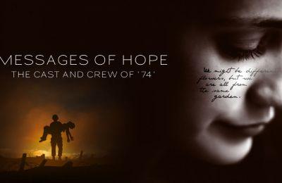 Οι συντελεστές της ταινίας μεγάλου μήκους «74» στέλνουν μηνύματα ελπίδας