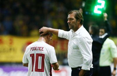 Ο Πορτογάλος προπονητής του Ολυμπιακού με τον συμπατριώτη του