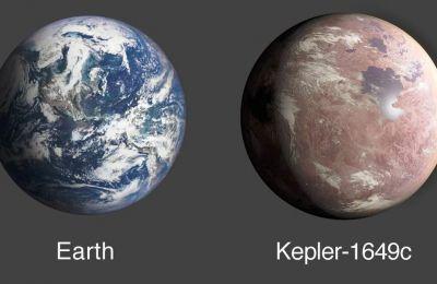Ο εξωπλανήτης Kepler-1649c φαίνεται να έχει μεγάλη ομοιότητα με τον πλανήτη μας από άποψη μεγέθους και θερμοκρασίας.