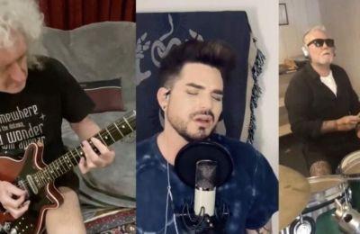Το βίντεο είναι «τρίπτυχο», με τον Lambert να έχει από τη μία πλευρά τον κιθαρίστα Brian May και από την άλλη τον ντράμερ Roger Taylor