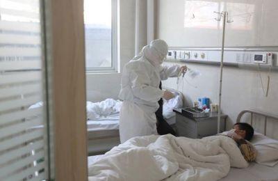 Έχει σχεδιαστεί να διαρκέσει τρεις έως τέσσερις μήνες ειδικά για ασθενείς με Covid-19. Πηγή φωτογραφίας ΚΥΠΕ.