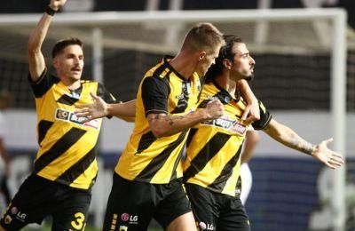 Η ΑΕΚ νίκησε 2-0 τον ΟΦΗ και πέρασε στη 2η θέση δύο πόντους πάνω από τον ΠΑΟΚ