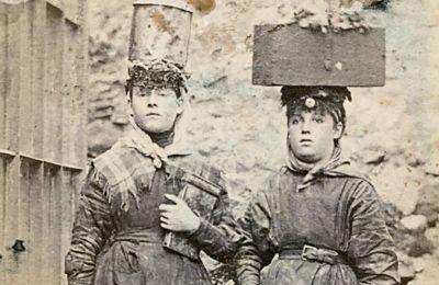 Εργάτριες ανθρακωρυχείου στην Ουαλλία το 1865