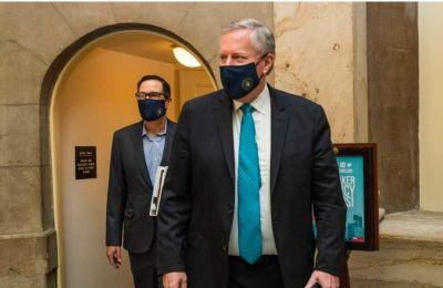 Ο προσωπάρχης του Λευκού Οίκου, Μάρκ Μίντοους (Φωτ.: Associated Press)
