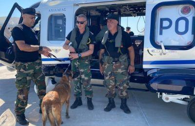 Φωτογραφία από τα μέλη της αποστολής που αναχώρησε για τον Λίβανο.