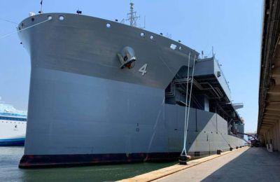 Φωτ. Twitter - U.S. Naval Forces Europe-Africa/U.S. 6th Fleet