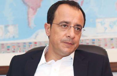 «Μέσα στο πλαίσιο αλλαγής του πλαισίου λύσης, έχουμε την συγκεκριμένη προσέγγιση της Τουρκίας για το θέμα των υδρογονανθράκων που προβάλλουν την ανάγκη διαλόγου με κ. Οζερσάι»