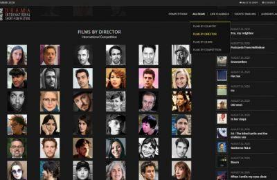 Το Φεστιβάλ προσφέρει στο κοινό του, για πρώτη φορά στην ιστορία του, και την δυνατότητα online θέασης όλου του φετινού προγράμματός μέσα από τη νέα διαδικτυακή πλατφόρμα του