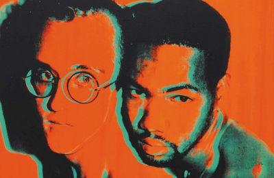 Πορτρέτο του Κιθ Χέρινγκ και του Χουάν Ντιμποσέ, διά χειρός Αντι Γουόρχολ