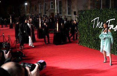 Στιγμιότυπο από το The Fashion Awards στο Royal Albert Hall το 2019