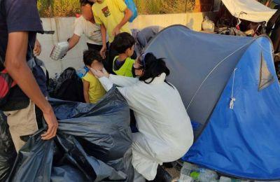 Λέσβος: Αστυνομική επιχείρηση για τη μεταφορά προσφύγων στο Καρά Τεπέ