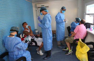 Τους 69 έφτασαν οι διασωληνωμένοι ασθενείς στις ΜΕΘ, δύο περισσότεροι σε σχέση με την Τετάρτη. Φωτογραφία από ΚΥΠΕ.