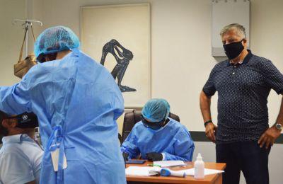 Ο ΕΟΔΥ ανακοίνωσε 359 νέα κρούσματα του ιού, με τον συνολικό αριθμό των περιστατικών πλέον να ανέρχεται σε 14.400.