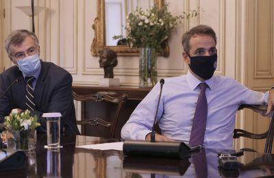 «Η κυβέρνηση είναι έτοιμη να εφαρμόσει επιπλέον μέτρα για τον περιορισμό της διασποράς του κορωνοϊού στην Αττική». Φωτογραφία από ΚΥΠΕ.