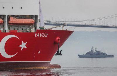 Αναφέρεται επίσης στο δημοσίευμα ότι «πολλοί ηγέτες της ΕΕ αντιτίθενται στην επιβολή περαιτέρω κυρώσεων επί της Τουρκίας». Φωτογραφία από ΚΥΠΕ.
