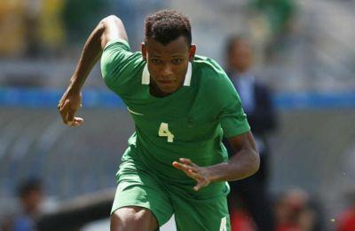 Ο Σιβού με την φανέλα της Εθνικής Νιγηρίας