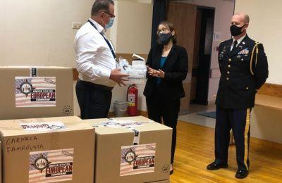 Ιατρικό εξοπλισμό αξίας 15 χιλιάδων ευρώ προσέφερε σήμερα στο ΓΝ Αμμοχώστου η Πρέσβειρα των ΗΠΑ