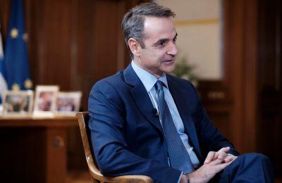 Ο κ. Μητσοτάκης υπογράμμισε πως η συνεισφορά του ΟΗΕ στη διατήρηση και την οικοδόμηση της ειρήνης καθώς και στην αποτροπή συγκρούσεων είναι αδιαμφισβήτητη (ΑΠΕ-ΜΠΕ/ΓΡΑΦΕΙΟ ΤΥΠΟΥ ΠΡΩΘΥΠΟΥΡΓΟΥ/ΔΗΜΗΤΡΗΣ