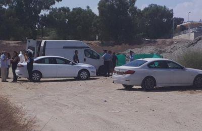 Φωτογραφία απ0ό το σημείο όπου βρέθηκε ο 33χρονος (ΚΥΠΕ).