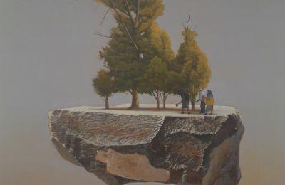 Το έργο του καλλιτέχνη Γιώργου Γαβριήλ απο τη σειρά «Αντικατοπτρισμοί»