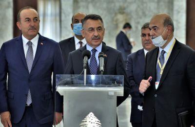 Ο Φουάτ Οκτάι ισχυρίστηκε ότι η Τουρκία δεν είναι κατακτητής στην Κύπρο, αλλά αντίθετα είναι η χώρα που εμποδίζει την απόπειρα κατοχής και προσάρτησης.