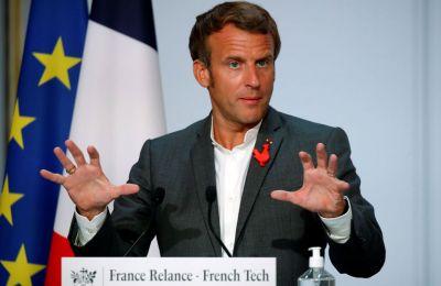 «Αυτές οι αρχές είναι μη διαπραγματεύσιμες», τόνισε ο Γάλλος πρόεδρος. Φωτογραφία από ΚΥΠΕ.