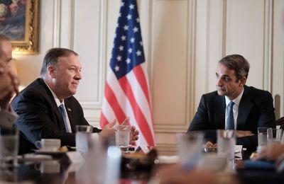 Η σχέση που αναπτύσσουν στον τομέα ασφαλείας η Ελλάδα, το Ισραήλ και τα Ηνωμένα Αραβικά Εμιράτα τελεί υπό την ενθάρρυνση των ΗΠΑ.