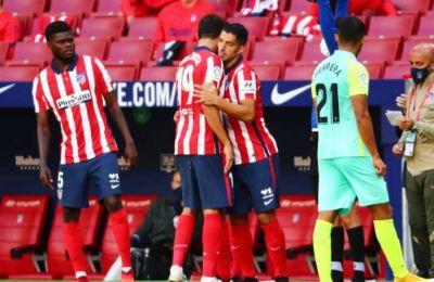 O Σουάρες πέτυχε δύο γκολ στο ντεμπούτο του με την Ατλέτικο