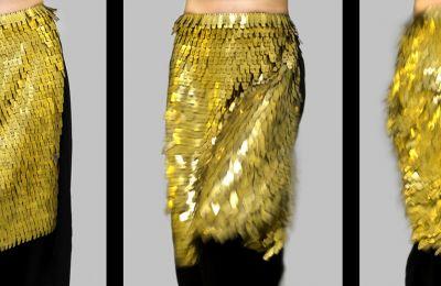 «Η ποδιά αποτελεί κεντρικό κομμάτι της γυναικείας παραδοσιακής φορεσιάς και φέρει στοιχεία που παραπέμπουν συμβολικά στην ταυτότητα των γυναικών κάθε περιοχής», Γιούλα Χατζηγεωργίου