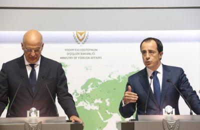 «Πιστεύω ακράδαντα ότι η προσπάθεια για τον τερματισμό των παράνομων και προκλητικών αυτών ενεργειών, μέσα από τον συνεχή συντονισμό των δύο χωρών μας, θα είναι επιτυχής