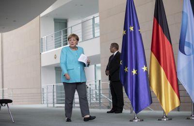 Η Γερμανίδα Καγκελάριος πρόσθεσε ότι δεν είναι υπέρ της επιβολής κυρώσεων στην Άγκυρα.