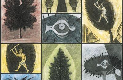 Εργο του Μάρκου Καμπάνη από τη σειρά «Το Μουσείο των Δέντρων»