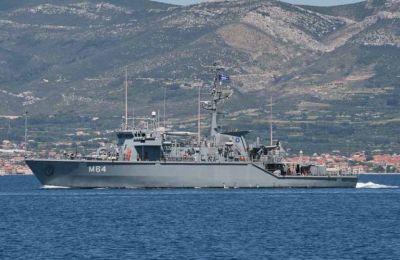 Στο Πολεμικό Πλοίο επέβαιναν 27 άτομα- Φωτ. ΑΠΕ – ΜΠΕ