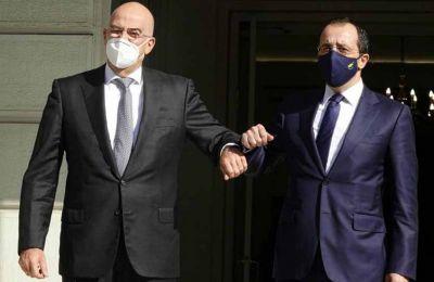 Τετ α τετ Χριστοδουλίδη - Δένδια ενόψει της τριμερούς συνάντησης Ελλάδας- Κύπρου – Ισραήλ