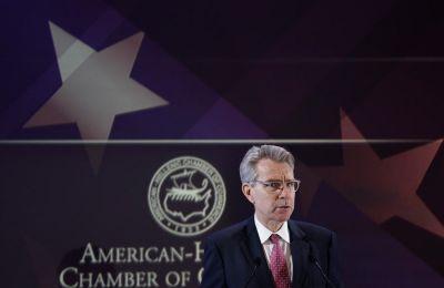 Πάιατ: Στρατηγικά σημαντική η τριμερής σχέση Ελλάδας, Κύπρου Ισραήλ