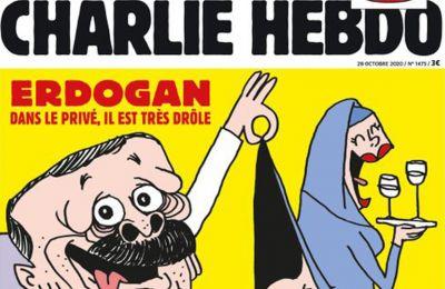 Με Ερντογάν το αυριανό εξώφυλλο του Charlie Hebdo