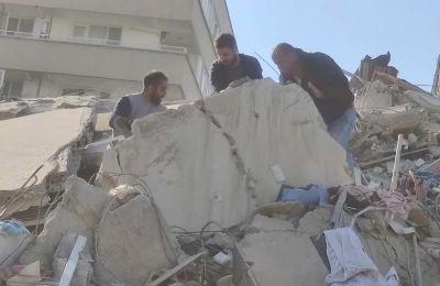Τουλάχιστον 24 νεκροί και 804 τραυματίες από τον σεισμό στην Τουρκία