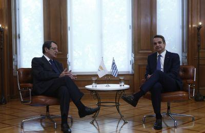 Συντονισμός Αναστασιάδη – Μητσοτάκη ενόψει της Συνόδου Κορυφής