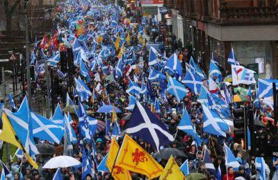 Το 55% των Σκωτσέζων ψήφισε κατά της ανεξαρτησίας της Σκωτίας από τη Βρετανία έναντι ποσοστού 45% που ψήφισε υπέρ στο δημοψήφισμα που διεξήχθη το 2014.