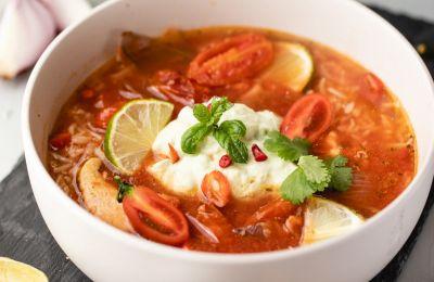 Ζεστή σούπα από το Μεξικό, φτιαγμένη με ένα διαφορετικό τρόπο αλλά τόσο νόστιμη!