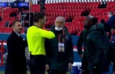 Κατηγορεί τον 4ο διαιτητή για ρατσιστική επίθεση η Μπασάκσεχιρ