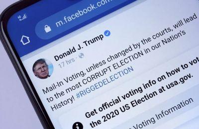 Παρατείνουμε τον αποκλεισμό που έχουμε επιβάλλει στους λογαριασμούς του στο Facebook και το Instagram επ΄ αόριστον και τουλάχιστον για τις επόμενες δύο εβδομάδες, ανέφερε ο Ζούκερμπεργκ