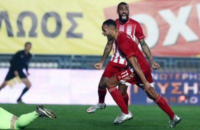 Ο Ολυμπιακός δυσκολεύτηκε κόντρα στον Παναιτωλικό, αλλά επικράτησε 2-1 στο Αγρίνιο