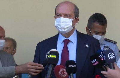 Ενημερώνει αρχηγούς κομμάτων για Κυπριακό ο Τατάρ